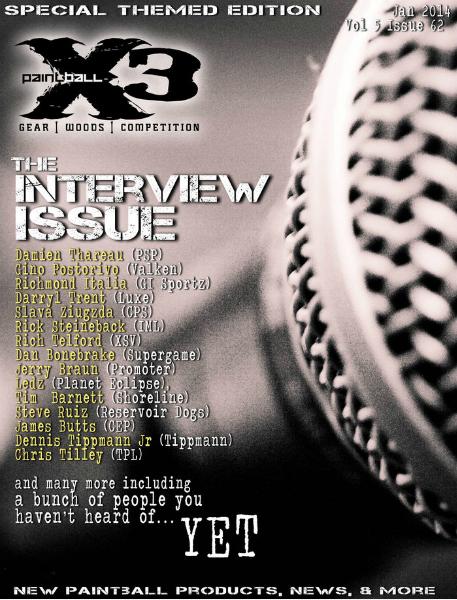 PaintballX3 Magazine January 2014