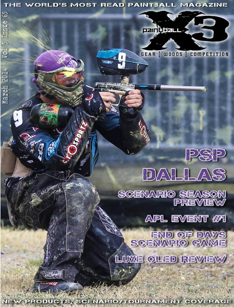 PaintballX3 Magazine Paintball X3 Magazine March 2014