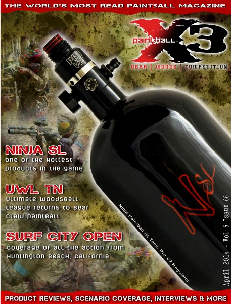 PaintballX3 Magazine April 2014 Issue