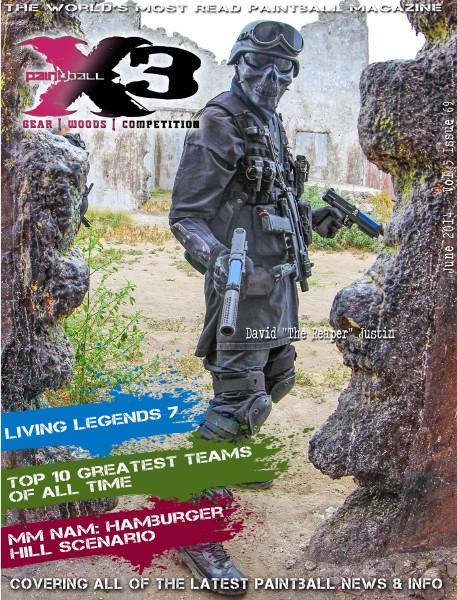 PaintballX3 Magazine June 2014