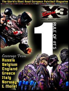 PaintballX3 Magazine PaintballX3 Euro February 2012 Issue