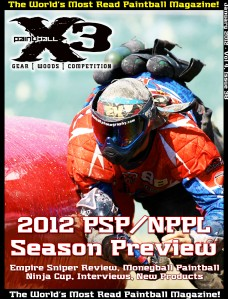 January 2012 Paintball X3 Magazine