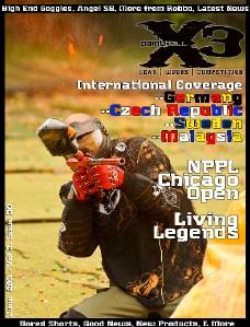 PaintballX3 Magazine PaintballX3 Magazine, June 2012