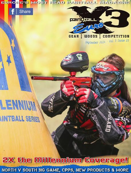 PaintballX3 Magazine PaintballX3 Euro Edition, September 2014
