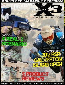 PaintballX3 Magazine PaintballX3 Magazine March, 2012