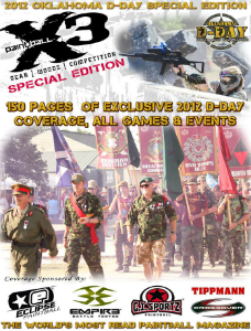 PaintballX3 Magazine 2012 Oklahoma D-Day Special Edition