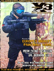 Paintball X3 Euro August 2012
