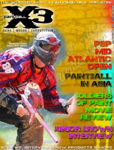 PaintballX3 Magazine PaintballX3 Magazine August Issue