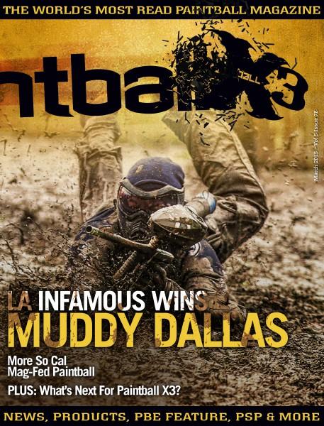 PaintballX3 Magazine March 2015