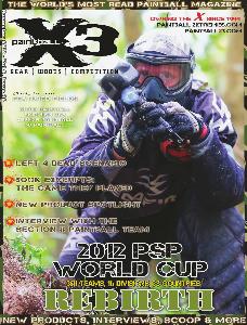 PaintballX3 Magazine PaintballX3, November 2012