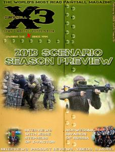 PaintballX3 Magazine, February 2013 Issue