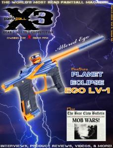PaintballX3 Magazine March 2013