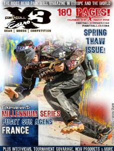 PaintballX3 Magazine Euro, May 2013