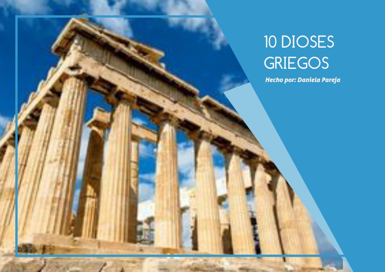 10 Dioses Griegos 1