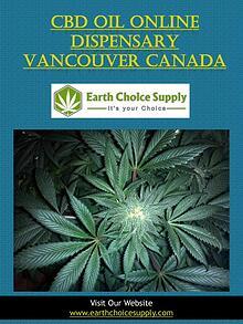 Cbd Oil Online Dispensary Vancouver Canada   earthchoicesupply.com