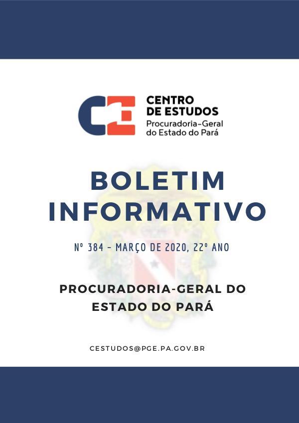 Boletim Informativo Março 2020