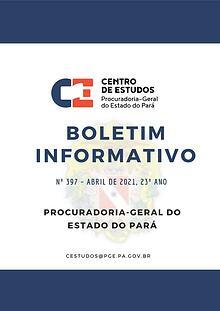 Boletim Informativo Abril 2021