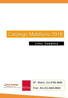 Catálogo 2018 Rental Profestas