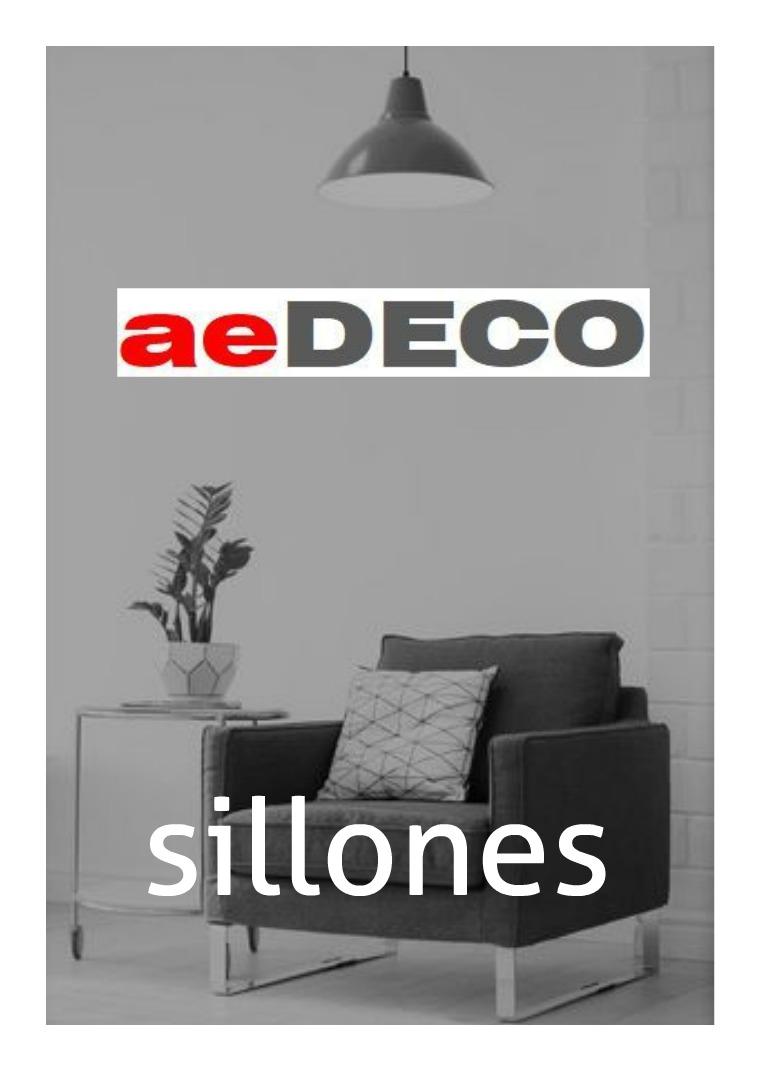 sillones AEDeco catalogo de sillones