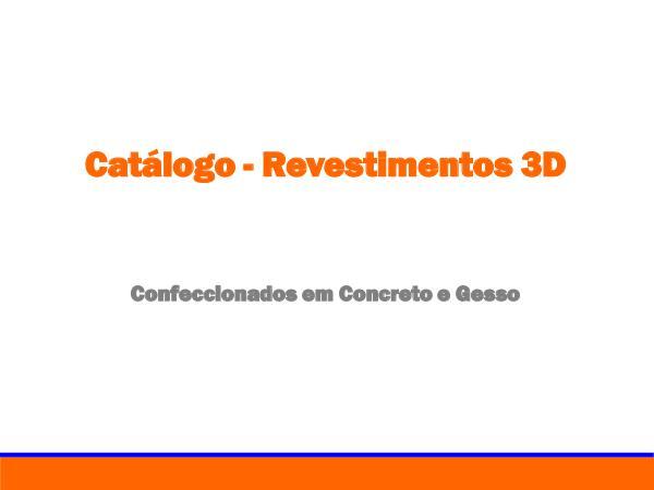 Catálogo Revestimentos Catálogo - Revestimentos lojas v1