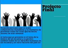 Projecto Competencias ciudadanas