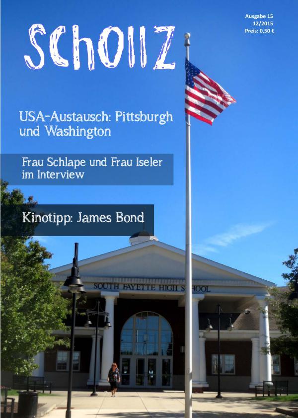 SchollZ SchollZ 12/2015 (Ausgabe 15)