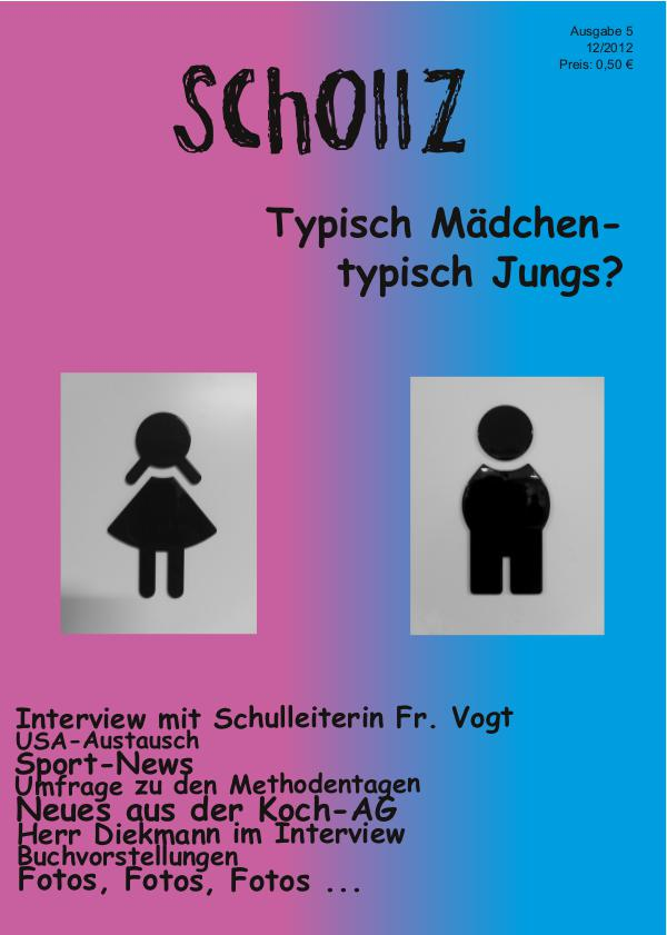 SchollZ SchollZ 12/2012 (Ausgabe 5)