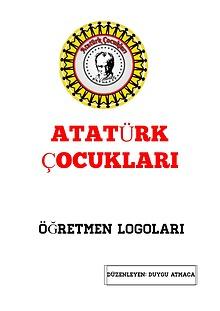 Atatürk Çocukları öğretmen logo çalışması