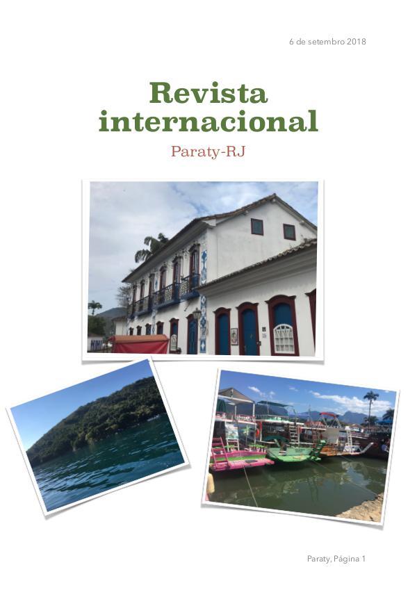 Revista internacional sobre Paraty-RJ Revista informativa sobre a cidade de Paraty