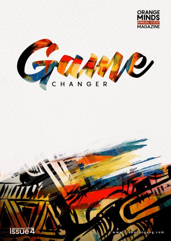 Orange Minds ORANGE MINDS MAGAZINE 2018