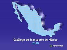 Catálogo de Transporte de México 2018