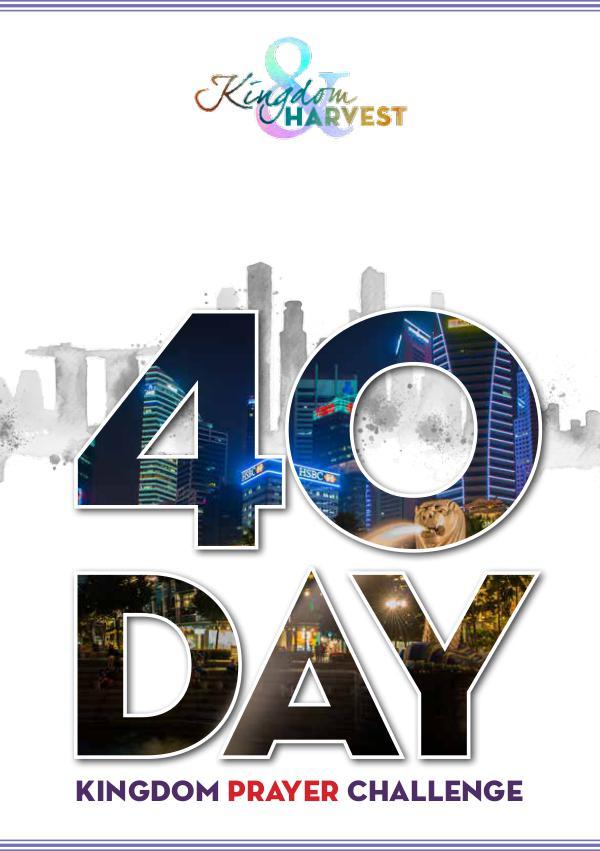 40 day kingdom prayer challenge 40Days02single