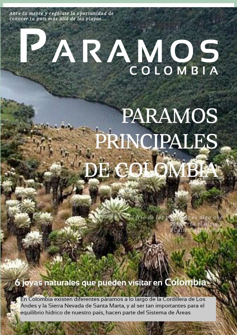 ALGUNOS PARAMOS DE COLOMBIA tomo 1 paramos
