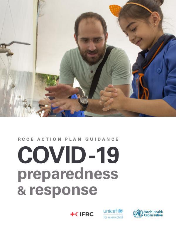 Coronavirus disease (COVID-19) technical guidance by WHO RCCE action plan: COVID-19 preparedness