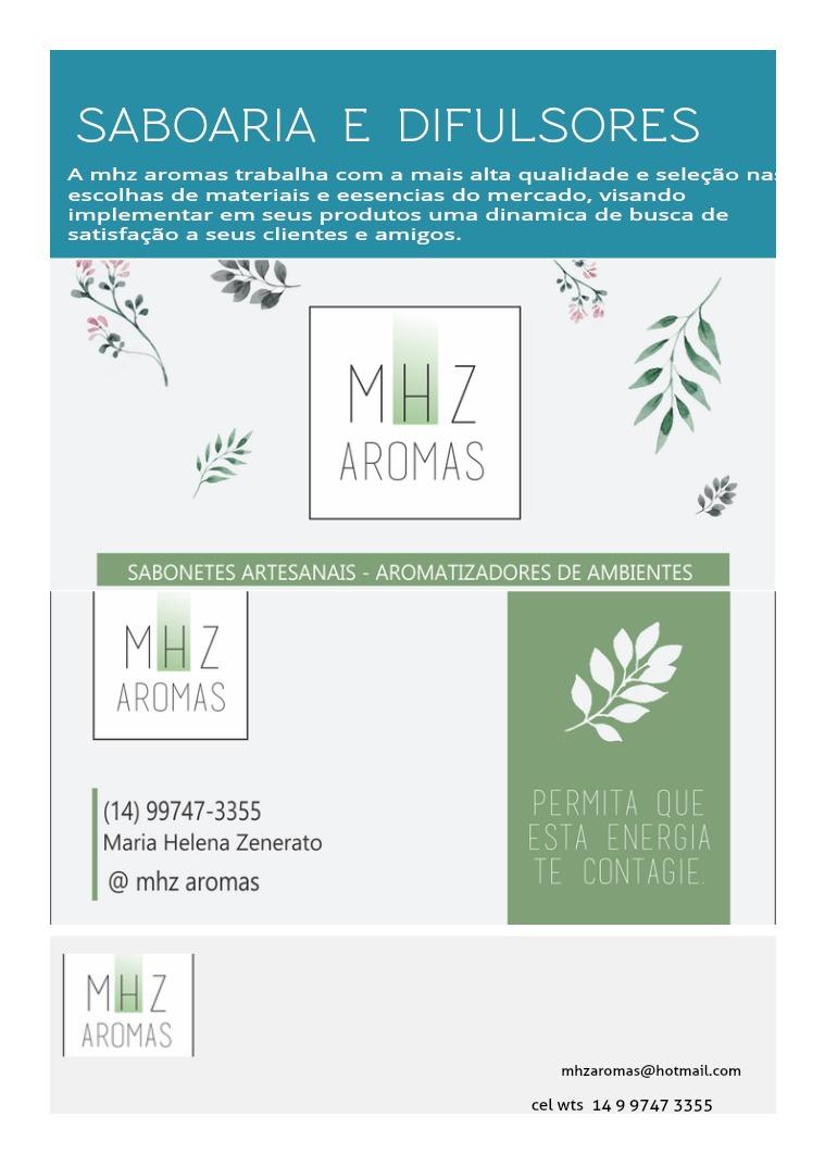 catalogo  MHZ AROMAS