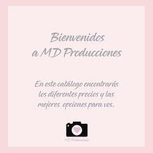 Catalogo MD producciones