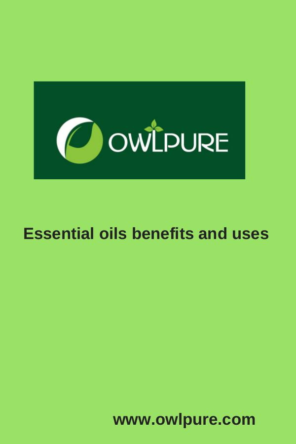 JNTU world forum lates notification OWLPURE Essential oils benefits and uses
