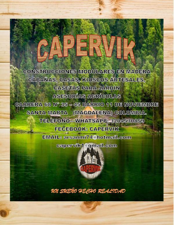 CATALOGO DIGITAL CAPERVIK-TURISMO catalogo digital CAPERVIK TURISMO