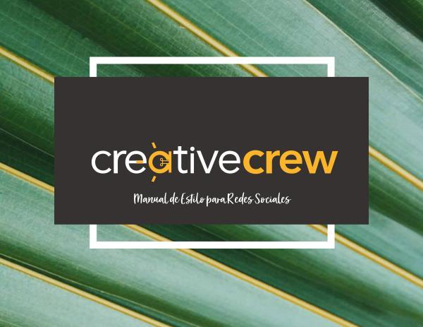 Manual de Estilo Creative Crew NEW MANUAL ESTILODigital