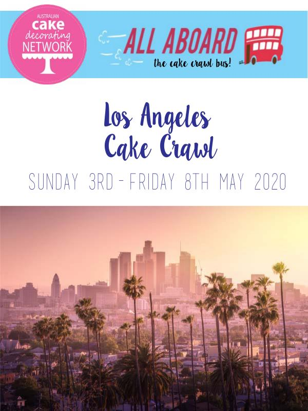 ACDN events Join us on our USA Cake Crawl 2020! - ITINERARY