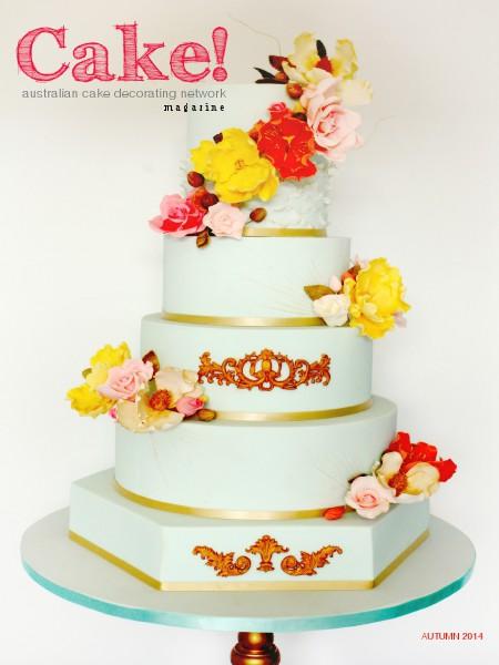 Cake! magazine by Australian Cake Decorating Network May 2014