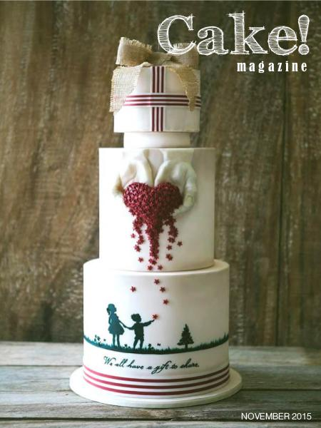 Cake! magazine by Australian Cake Decorating Network November 2015