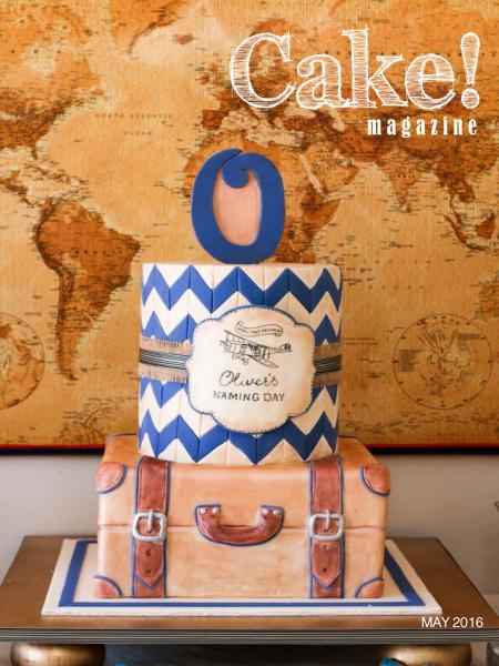 Cake! magazine by Australian Cake Decorating Network May 2016