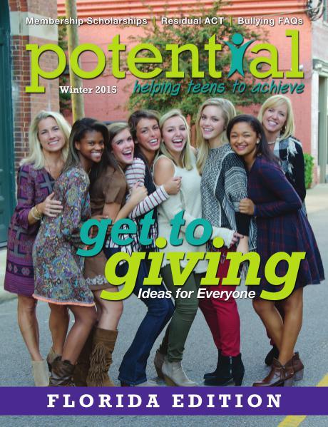 Potential Magazine Winter 2015 - Florida Edition
