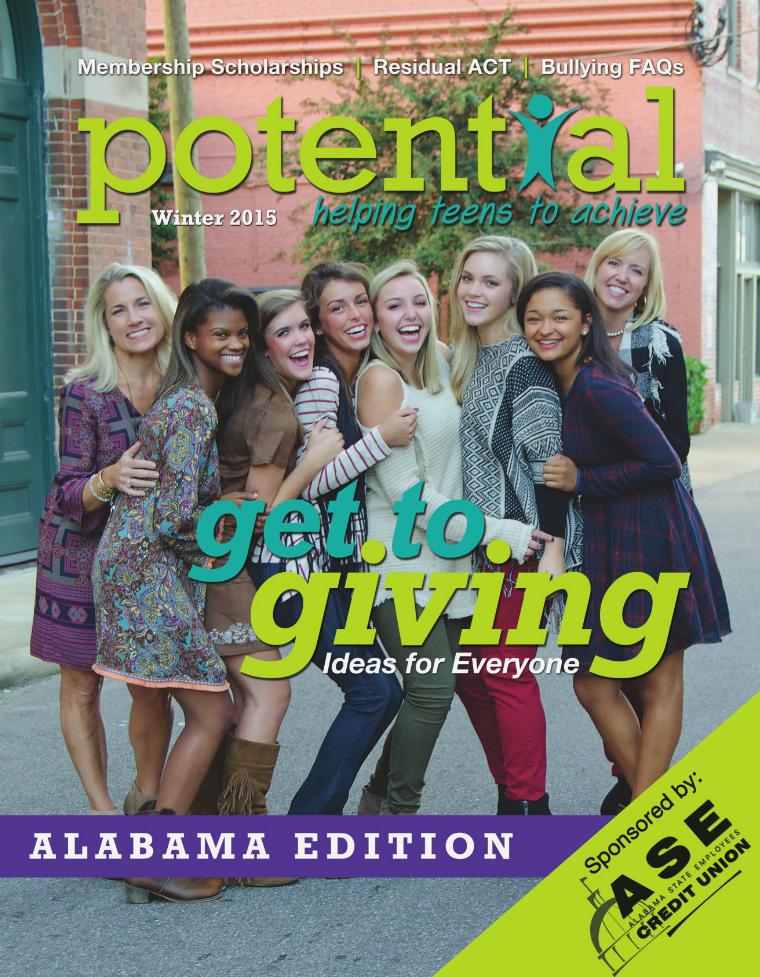Potential Magazine Winter 2015 - Alabama Edition