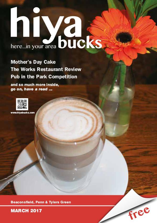 hiya bucks Amersham, Beaconsfield, Chesham, Gerrards Cross, Missenden March 2017