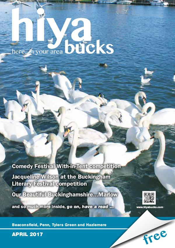 hiya bucks Amersham, Beaconsfield, Chesham, Gerrards Cross, Missenden April 2017