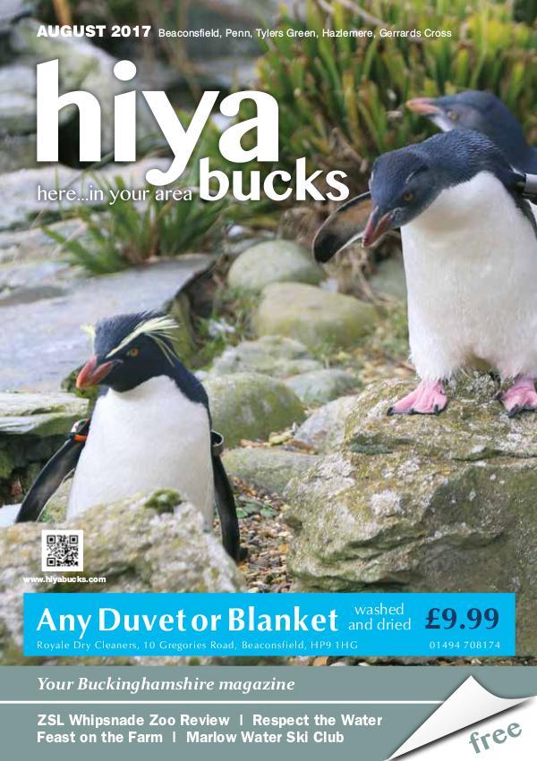 hiya bucks Amersham, Beaconsfield, Chesham, Gerrards Cross, Missenden August 2017