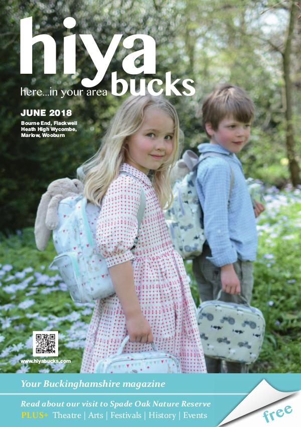 hiya bucks in Bourne End, Flackwell Heath, Marlow, Wycombe, Wooburn June 2018