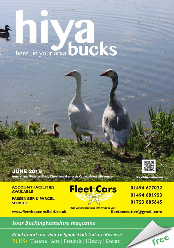 hiya bucks Amersham, Beaconsfield, Chesham, Gerrards Cross, Missenden June 2018